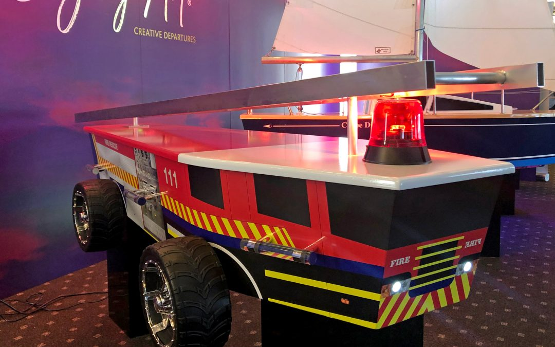 Fire engine casket –specialty